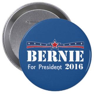 Bernie Sanders For President 2016 10 Cm Round Badge