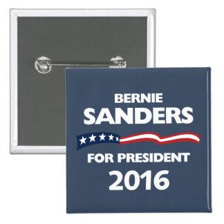 Bernie Sanders for president 2016 15 Cm Square Badge