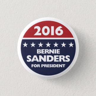 Bernie Sanders for president 2016 3 Cm Round Badge