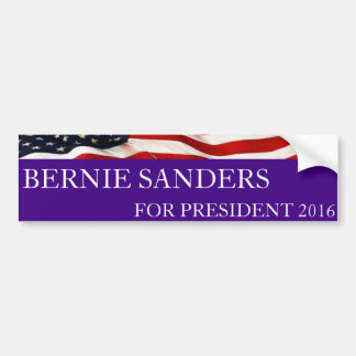 Bernie Sanders for President 2016 Bumper Sticker