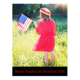 Bernie Sanders for President 2016 Postcard
