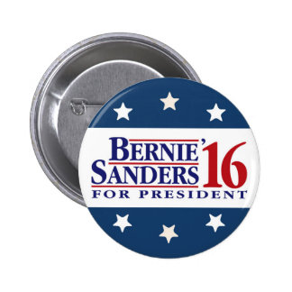 Bernie Sanders For President 6 Cm Round Badge