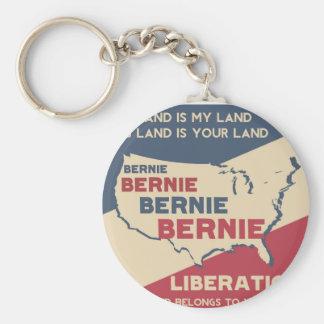 Bernie Sanders for President Basic Round Button Key Ring