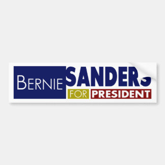 Bernie Sanders for President V1 Bumper Sticker