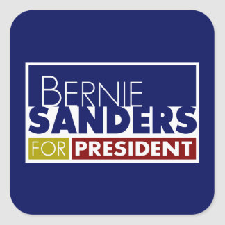 Bernie Sanders for President V1 Square Sticker
