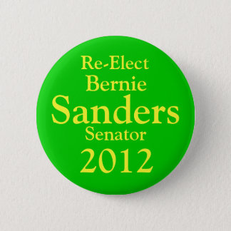 Bernie Sanders for US Senate 6 Cm Round Badge