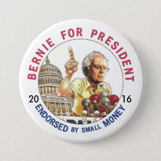 Bernie Sanders for USA 7.5 Cm Round Badge