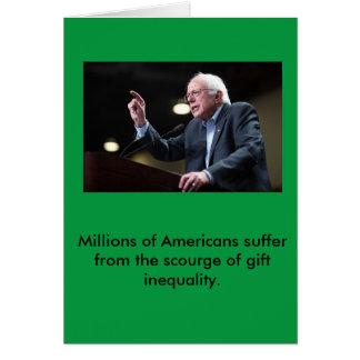 Bernie Sanders Holiday Card