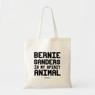 Bernie Sanders is my spirit animal Budget Tote Bag