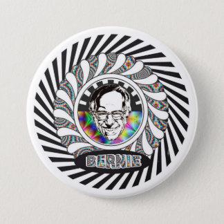 Bernie Sanders is Psychedelic 7.5 Cm Round Badge