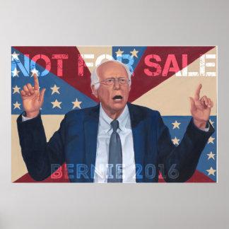 "Bernie Sanders ""Not for Sale"" Poster"