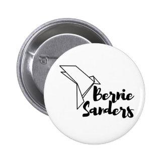 Bernie Sanders Origami Dove Button