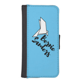 Bernie Sanders Origami Dove iPhone 5/5s Wallet