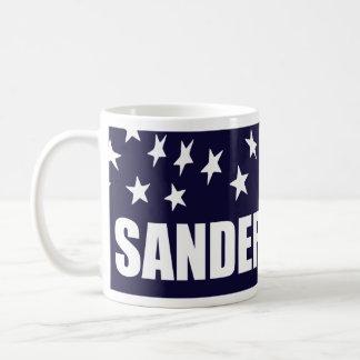 Bernie Sanders President 2016 American Flag Basic White Mug