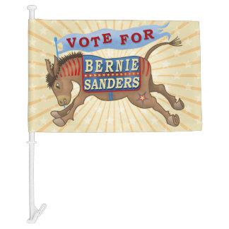 Bernie Sanders President 2016 Democrat Donkey Car Flag