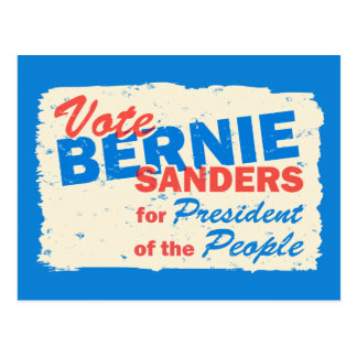 Bernie Sanders President of the People V5 Postcard