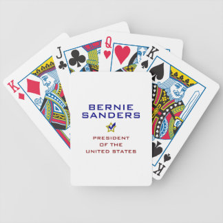 Bernie Sanders President USA V2 Bicycle Playing Cards