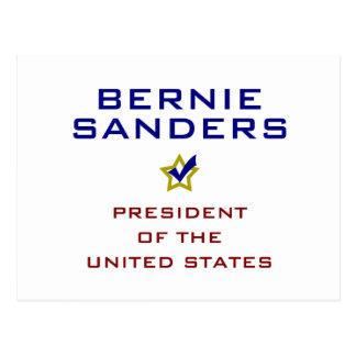 Bernie Sanders President USA V2 Postcard