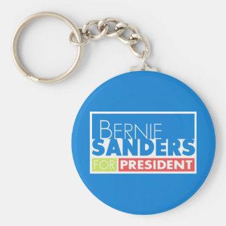 Bernie Sanders President V4 Basic Round Button Key Ring