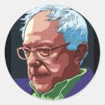 Bernie Sanders Round Sticker