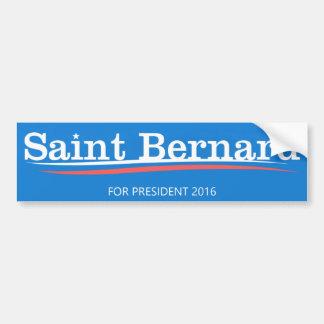 "Bernie Sanders ""Saint Bernard"" Bumper Sticker"