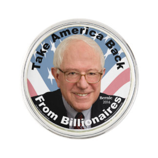 Bernie Sanders Take America Back Lapel Pin