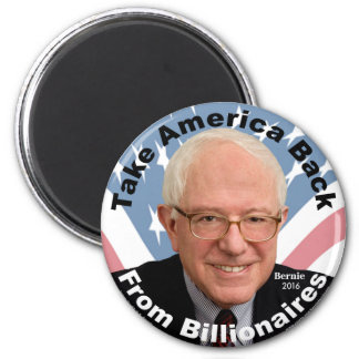 Bernie Sanders Take America Back Magnet