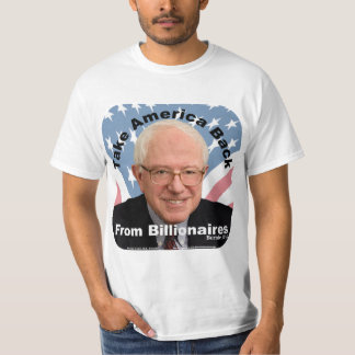 Bernie Sanders Take America Back Mens T-shirt