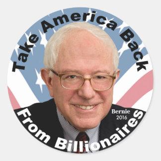Bernie Sanders Take America Back Sticker