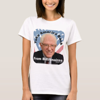 Bernie Sanders Take America Back Womens T-shirt