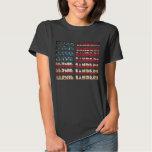 Bernie Sanders TShirts USA Flag   Retro T-Shirts