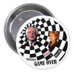 Bernie Sanders vs. Hillary Clinton 7.5 Cm Round Badge