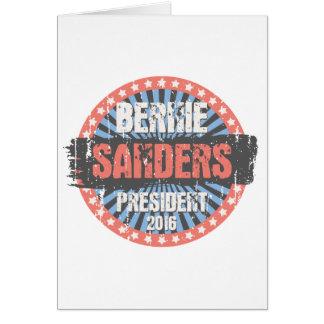 Bernie Smear Campaign Gear Greeting Card