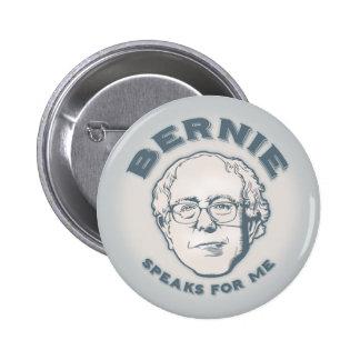 Bernie Speaks for Me 6 Cm Round Badge