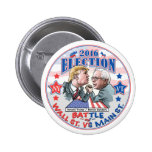 Bernie Vs Trump Election 2016 6 Cm Round Badge