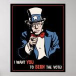 Bernie Wants You Poster