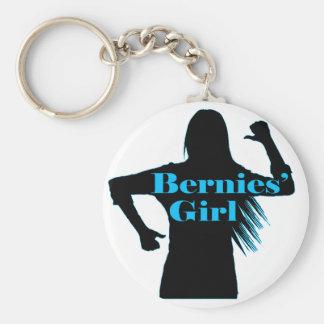 Bernies Girl Bernie Sanders Key Ring
