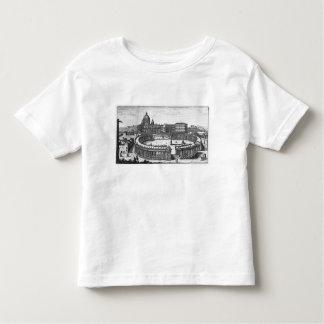 Bernini's original plan for St. Peter's Square Toddler T-Shirt