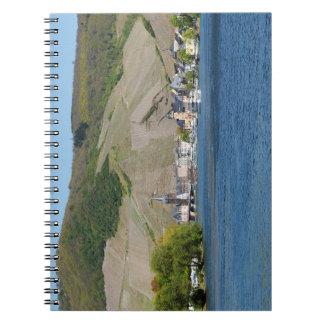 Bernkastel Kues at Moselle Spiral Notebook