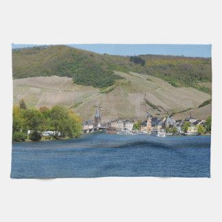 Bernkastel Kues at Moselle Tea Towel