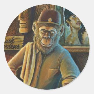 Berns The Chimp Sticker