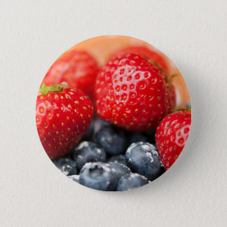 Berries 6 Cm Round Badge