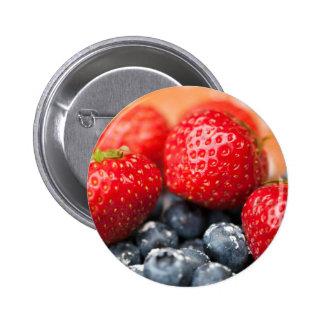 Berries 6 Cm Round Badge