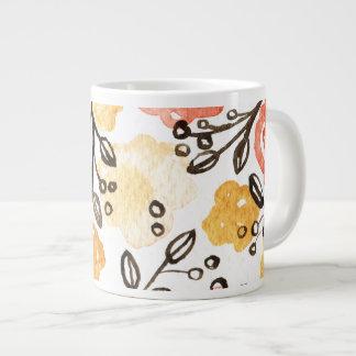 Berries and Floral Jumbo Mug