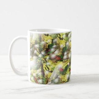 Berries and Snow Basic White Mug