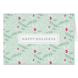 Berries & Branches | Holiday Greeting Card
