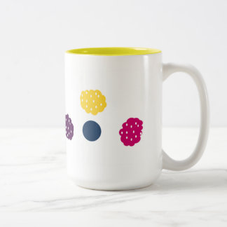 Berries Two-Tone Coffee Mug