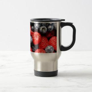 Berries Stainless Steel Travel Mug