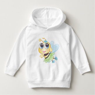 Berry Bee Toddler Pullover Hoodie