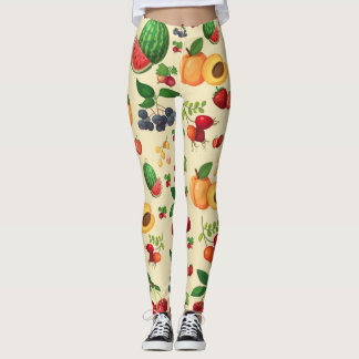 Berry Berry Sweet Pattern Leggings